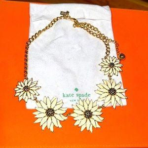 Kate Spade Daisy Necklace - Brand New!